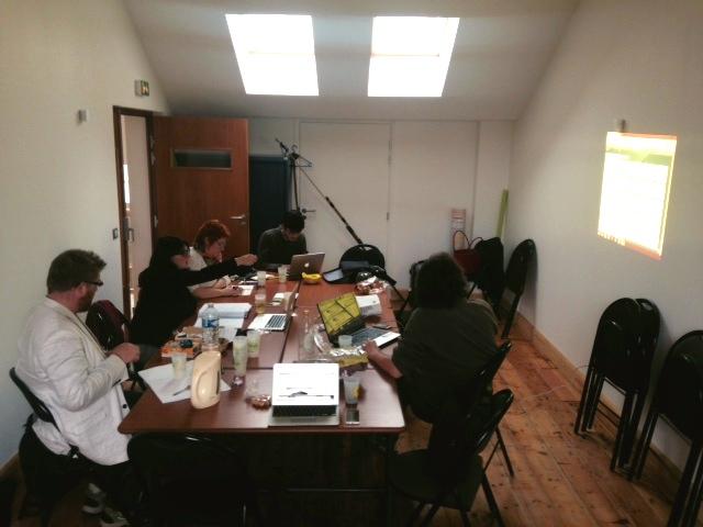 week-end de commission feminisme à Lille, dans la MER - maison des écolos régionale